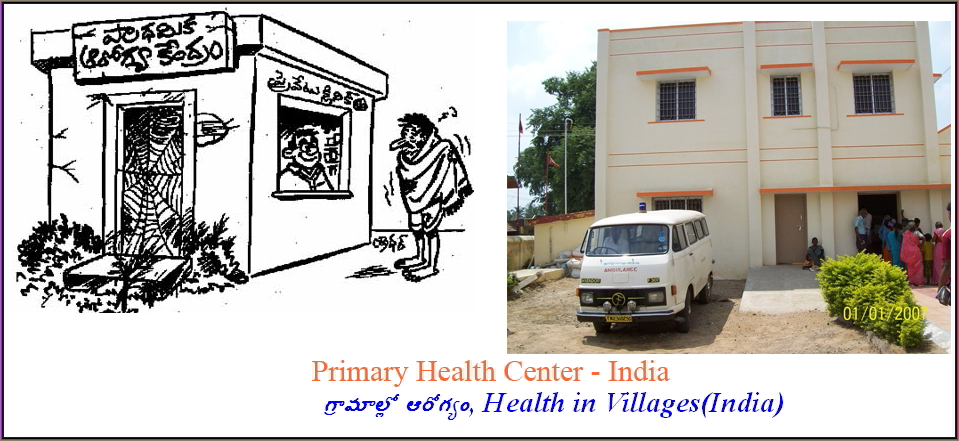 Health in Villages(India)